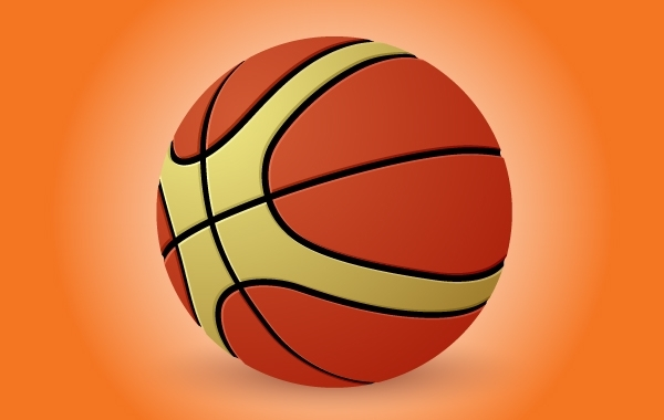 Free Basketball Illustration