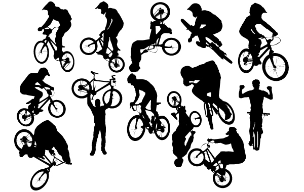 Free Silhouette Bicycle Perform Pack