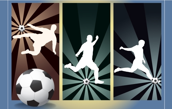 Free Football Kick Pack Silhouette