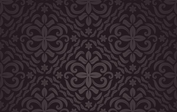 Free Brown Floral Seamless Pattern