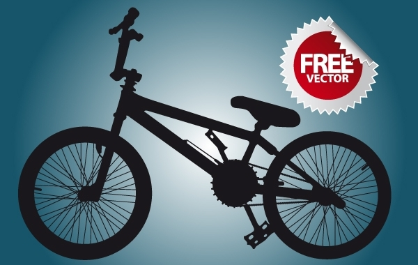Free Silhouette Bicycle