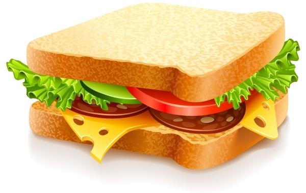 Free  Sandwich Vector