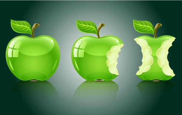 Free 3D Apple Fruit Pack