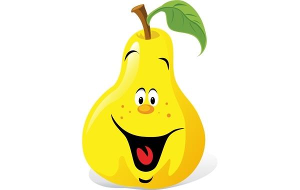 Free Cartoon Pear