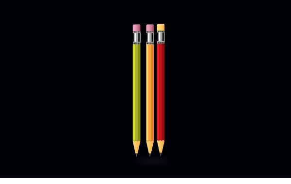 Free Realistic Color Pencil Pack