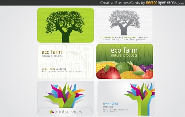 Free Creative Business Cards