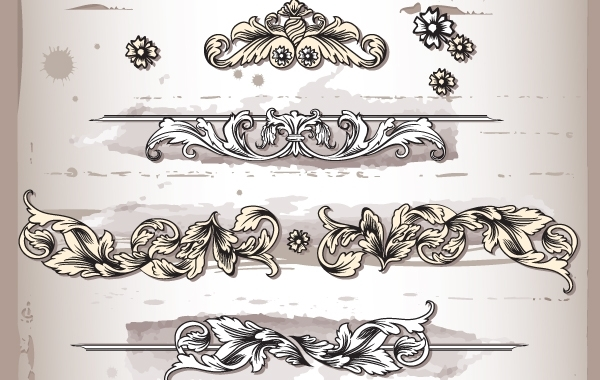 Free Sketchy Floral Ornament Pack