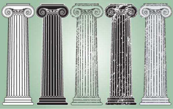 Free Grungy Vintage Pillar Pack