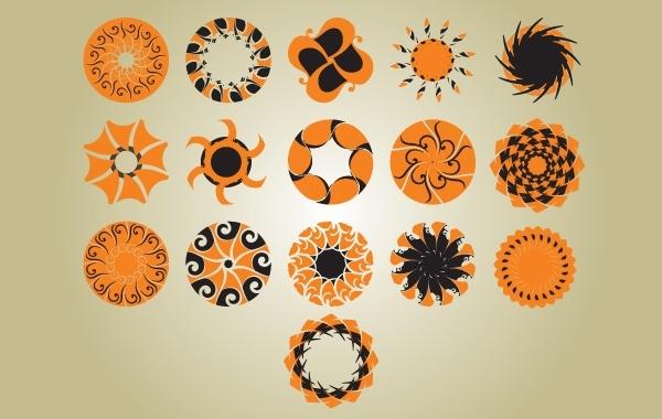 Free Vintage Circle Pattern Pack