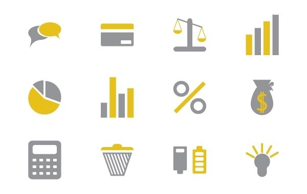 Free Vectors: Iconika - Business and Financial Set | Kabedi Carlos