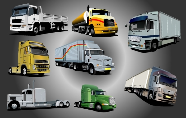 Free Photorealistic Shipping Lorry Pack