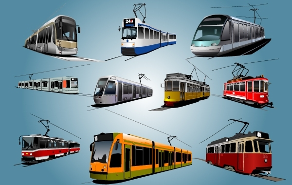 Free High Detail City Train