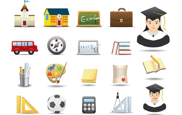 Free Educative Icon Pack