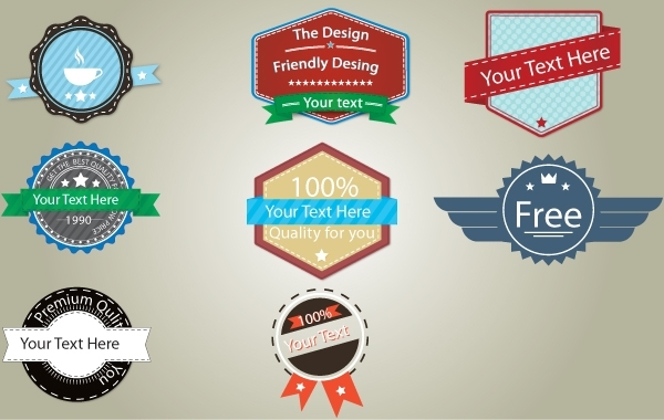 Free Vectors: Vintage Badge Pack Template | boleavladut