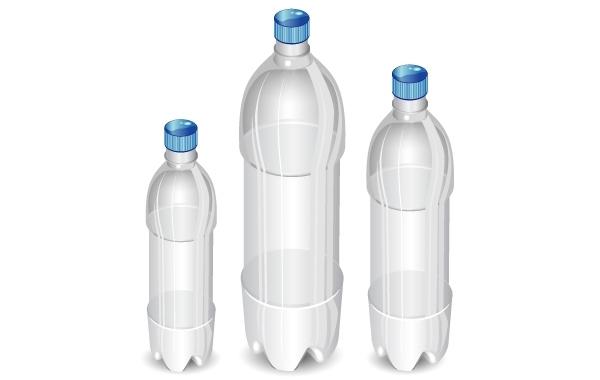 Free High Detail Vector Bottles