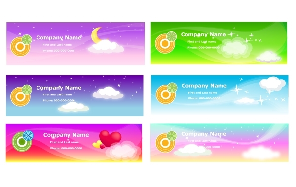 Free Sky Theme Banner Template