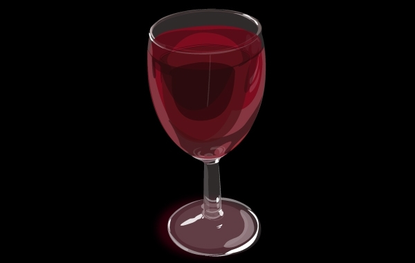 Free Vector Realistic Wine Glass