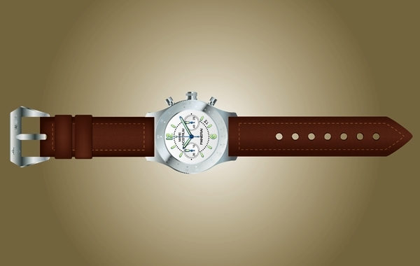 Free Vector Photorealistic Hand Watch