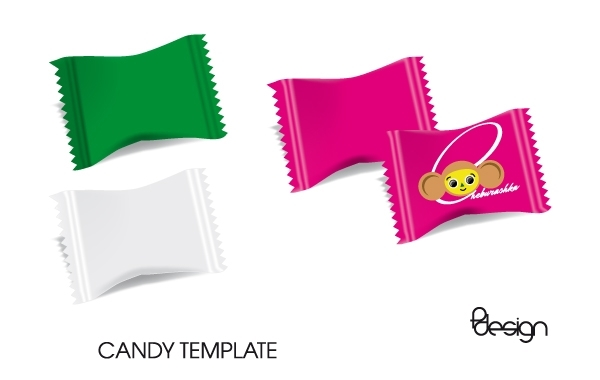 Free Vector Candy Template