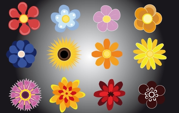 Free Flower Pack Vector