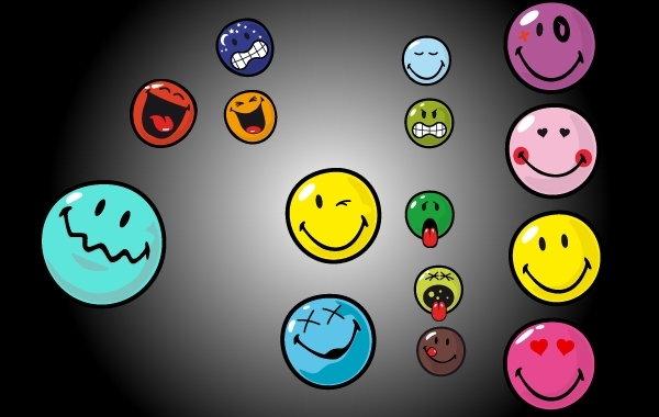 Free Vector Emoticon Set
