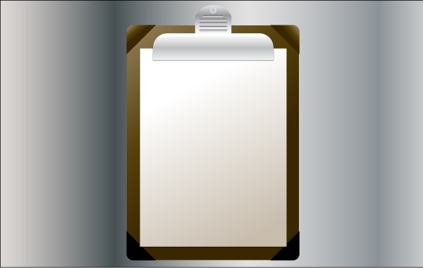 Free Vector Clipboard Illustration