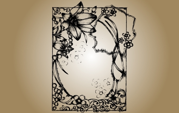 Free Sketchy Frame Vector