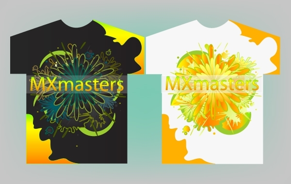 Free Colorful T-Shirt Design Vector