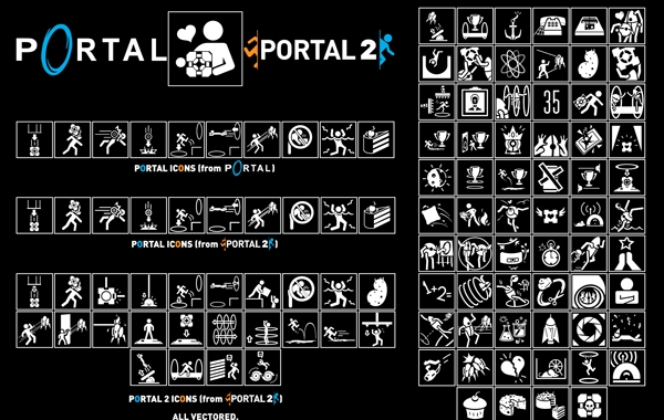 Free Portal Icon Pack Vector