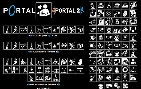 Free Vectors: Portal Icon Pack Vector | Zeptozephyr