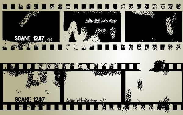 Free Vector Grungy Film Strip