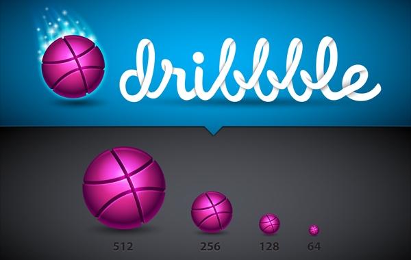 Free Stunning Dribble Icon Set