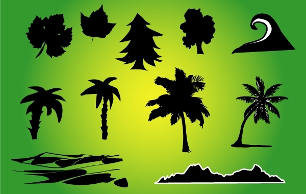 Free Silhouette Nature Vector