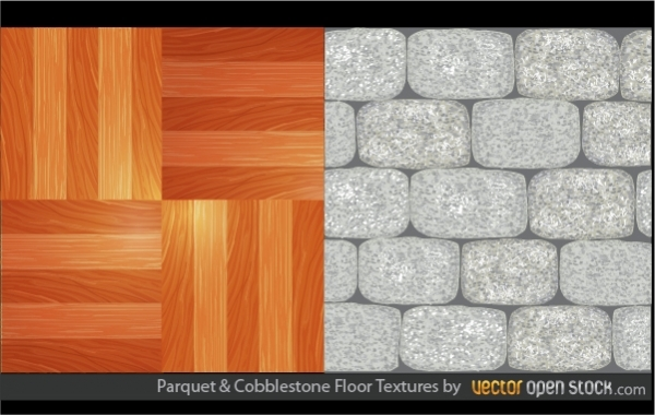 Free Parquet and Cobblestone Floor Textures