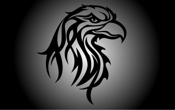 Free Vector Tribal Eagle Head