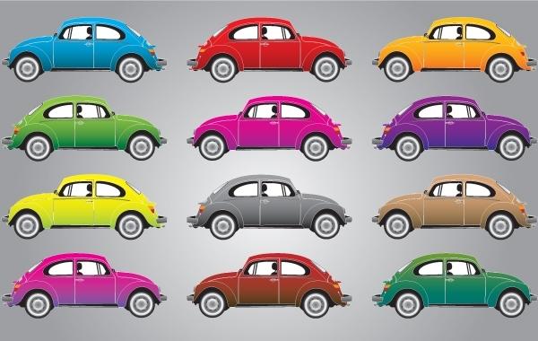 Free Kafer or Beatle Car Vector