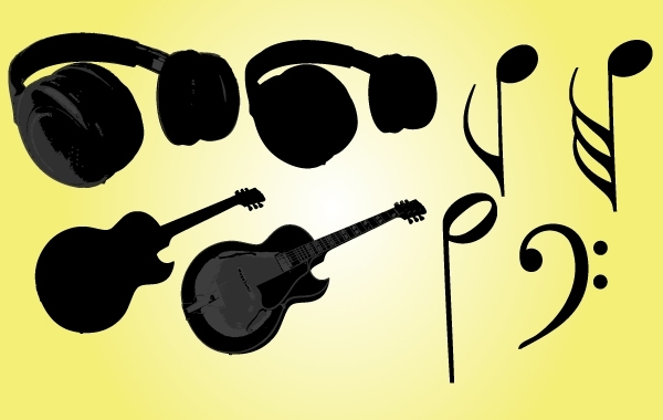 Free Musical Objects Vector
