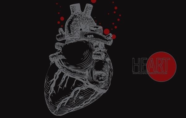 Free Human Heart Vector
