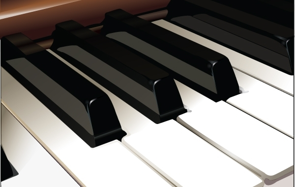 Free Vector Piano Keys