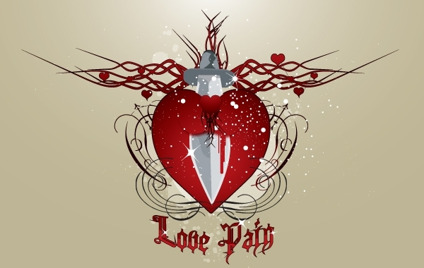 Free Heart in Painful Love