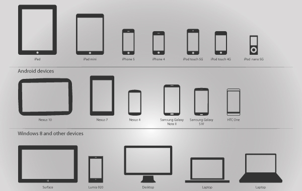 Free Vector Technology Devices Pack
