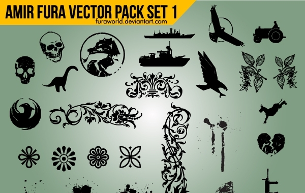 Free Vector Objects Pack