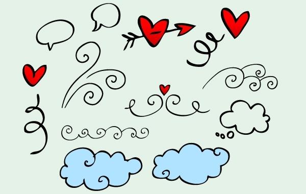 Free Vector Doodle Artwork