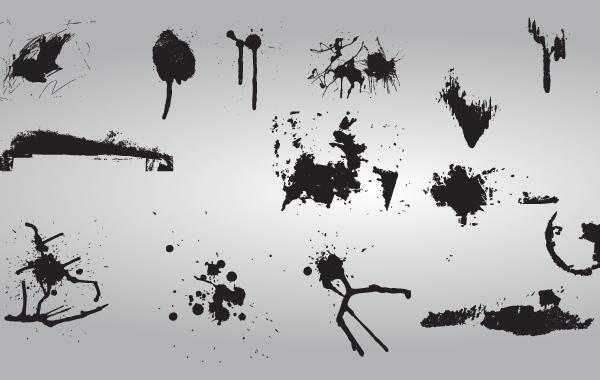 Free Vector Grunge Splat