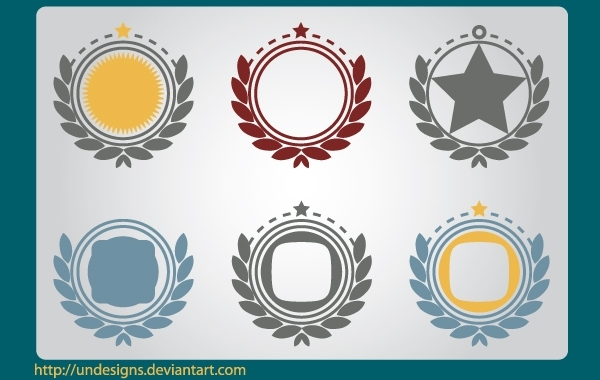 Free Shapes & Frames for Ornament