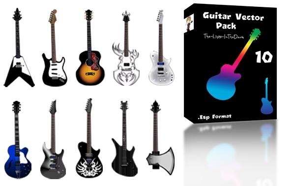 Free Various Vector Guitar