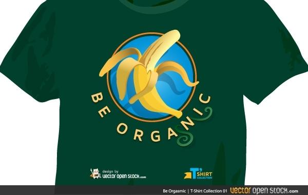 Free Be Orgasmic T-Shirt (male version)