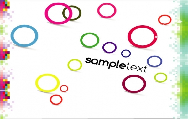 Free Abstract sample vector design