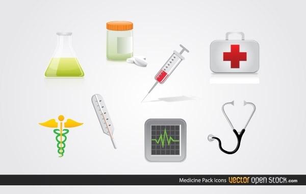 Free Medicine Icon Pack