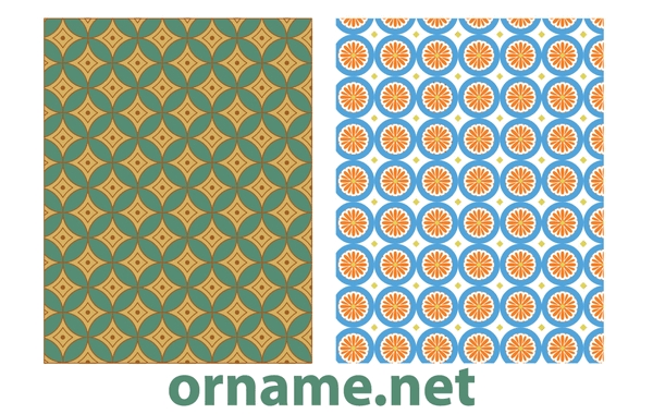 Free Two Vector Egyptian Patterns